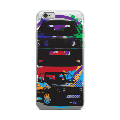 Vintage VW Volkswagen Retro MK2 Golf GTi - iPhone Case - High Quality Cover
