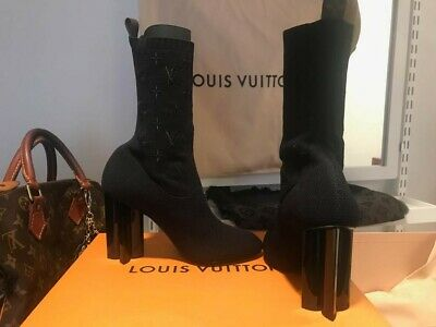 6a411283 LOUIS VUITTON SILHOUETTE Ankle Boot size 38