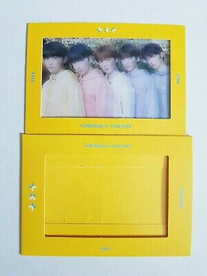 """K-POP TXT Clear Photocard Official / TXT 1st Album """"The Dream Chapter : STAR"""""""