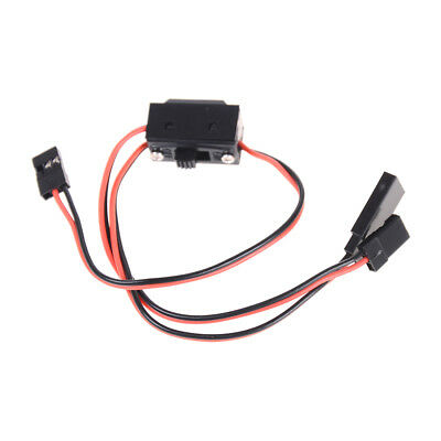 3 Way Power On/Off Switch With JR Receiver Cord For RC Boat Car Flight XBUK