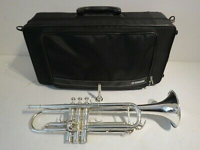 Yamaha YTR-4335G Silver Plated Trumpet Outfit