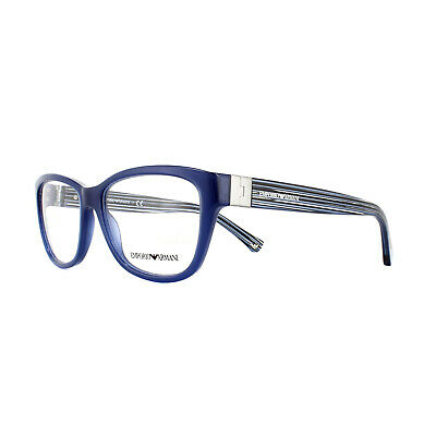 Emporio Armani Glasses Frames EA 3084 5518 Blue  54mm Womens