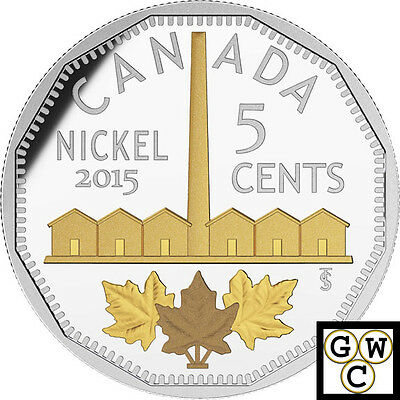 2015 Identification of Nickel-Legacy of the Nickel Prf 5ct 1oz.9999Fine(17312)NT