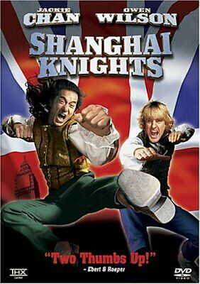 Shanghai Knights - DVD (Like New)