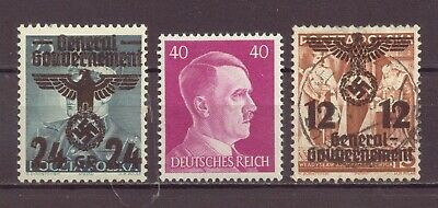 Poland Under WWII 3rd Reich German Occupation, MNH, MH, Used, 1940, OLD