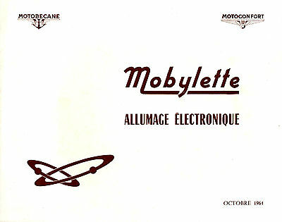 Catalogue MOTOBECANE MOTOCONFORT mobylette allumage electronique 1964