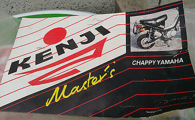 N.O.S echappement KENJI MASTER'S YAMAHA CHAPPY mobylette