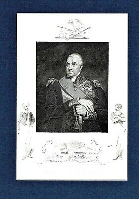 Admiral Edward Pellew, Viscount Exmouth - Eng. by J. Rogers after W. Owen, RA
