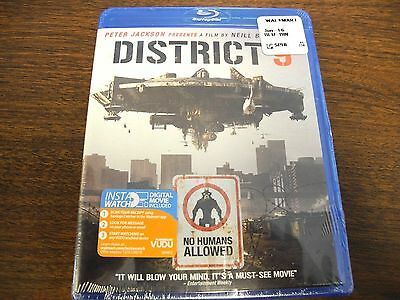 District 9 (Blu-ray Disc, 2009) # NEW (FREE FAST SHIPPING)