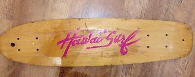VINTAGE SKATEBOARD DECK HAWAÏ SURF 70's 80'S SIMS G&S