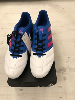 ADIDAS ACE 17.4 FxG NEW IN BOX BLUE/WHITE/PINK UK 6.5