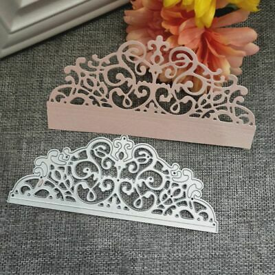 Lace Cover Cutting Dies DIY Stencil Scrapbooking Album Paper Card Embossing