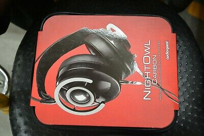 BRAND NEW AudioQuest NightOwl Carbon Closed-Back Around-the-Ear Headphones