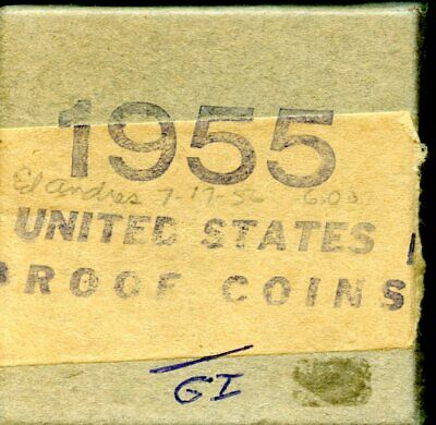 Uncirculated 1955 United States Proof Coin w/Box EB607
