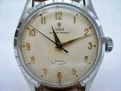 Superb Vintage Stainless Steel Rolex Tudor Oyster Prince Automatic Wristwatch.