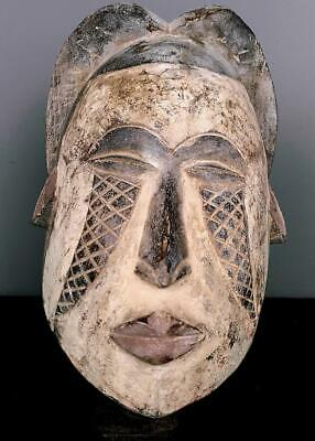 Outstanding   Tribal Large Igbo Spirit   Mask    --   Nigeria