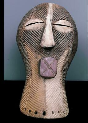 Outstanding Tribal Songye Kifwebe Mask    --   Congo