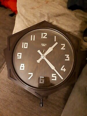 Bakerlite Smiths Sectric Wall Clock