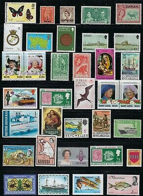 British Colonies  - Collection of  MNH Stamps..................# 19 M 18