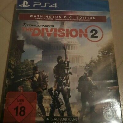 The Division 2 Washington D.C. Edition Playstation 4 NEU&OVP / NEW&SEALED