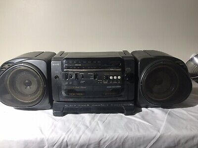 Vintage FISHER Boom Box PH-5500 Boombox High-Fidelity AM/FM/DUAL CASSETTE Radio