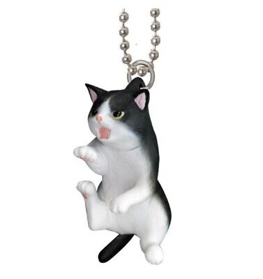 Keychain Cat Black And White 4 Cm Epoch Capsules Toy Giapponese #2