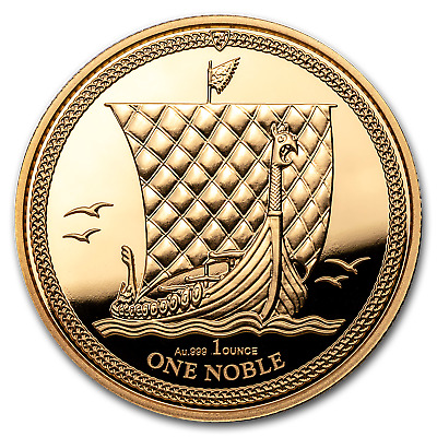 2018 Isle of Man 1 oz Gold Noble BU - SKU#170612