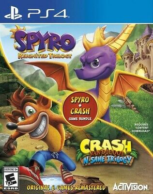 Spyro™ Reignited Trilogy + Crash Bandicoot N-SANE Trilogy PS4 Secundaria