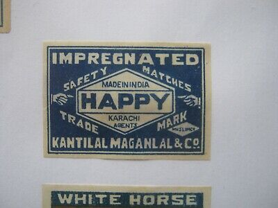 Old Indian Matchbox Label.design 11.