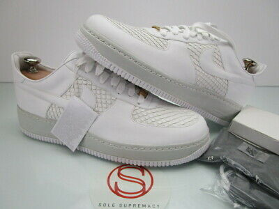 wholesale dealer 3df47 bffed DS Nike Air Force 1 Lux WHITE GOLD ANACONDA 9