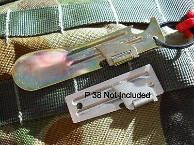 1 Australian Army Ration Pack Can Opener Fred P38 SAS Military Surplus Dpcu Dpdu