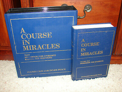 A Course In Miracles Foundation For Inner Peace Audio Cassettes Complete Set