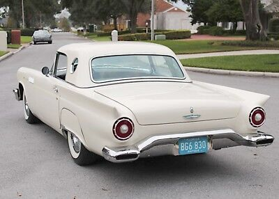 1957 Ford Thunderbird WEST COAST SURVIVOR - 65K MI LIFETIME WEST COAST SURVIVOR - 1957 Ford Thunderbird Convertible - 65K MI