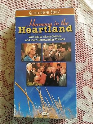 Gaither Gospel Series HARMONY IN THE HEARTLAND w/Homecoming Friends VHS 2000