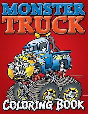 Monster Trucks Coloring Book by Speedy Publishing LLC -Paperback