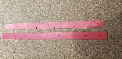 SQUEEGEE BLADE / RUBBER SET FOR TENNANT A300 T300 T500 & T500e Scrubber Dryers