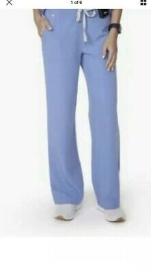 af8cd986c59 FIGS Women's scrubs 2X Petite Dakar Basic Pants Bottoms Ceil Blue NWT New