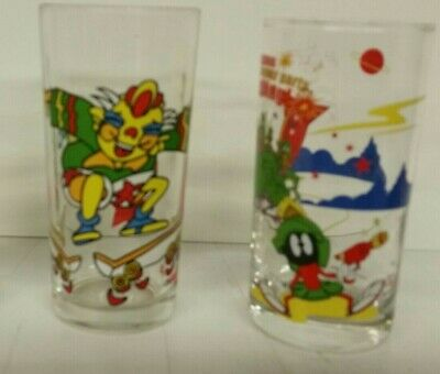 Various Nutella IXL, Jam Looney Tune Disney,  Collector Drinking Glasses