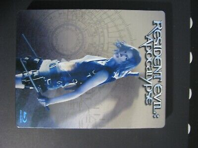 Resident Evil: Apocalypse 2 Disc's Steelbook Blu-Ray Edition Mint Condition