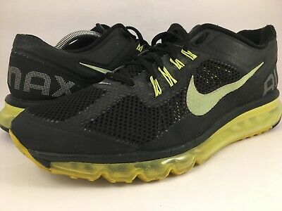 new concept b8671 64016 NIKEiD Nike iD Air Max+ 2013 599021-991 Men s Running Shoes Neon Size 11