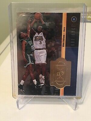 1998-99 SPX Finite Radiance Allen Iverson Blue /5000 Philadelphia 76ers