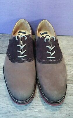 a6137f40c34 Men s 1901 Nordstrom Shoes Saddle Up Suede Oxford M23109 Dark Brown size 10M