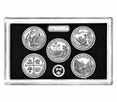 2019 S Silver America The Beautiful 5 Coin Gem Proof Set No Box or COIN STOCK