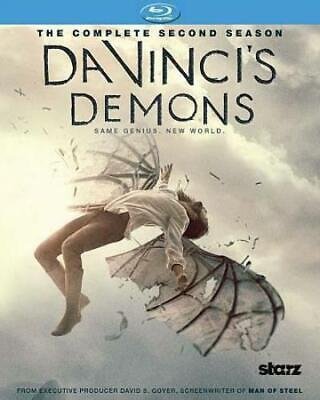 NEW Da Vincis Demons The Complete Second Season Blu-ray Disc 3-Disc Set