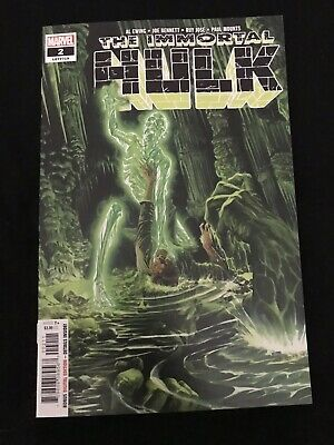 Immortal Hulk #2 1st Appearance Of Dr. Frye 1st Print Alex Ross First Print NM