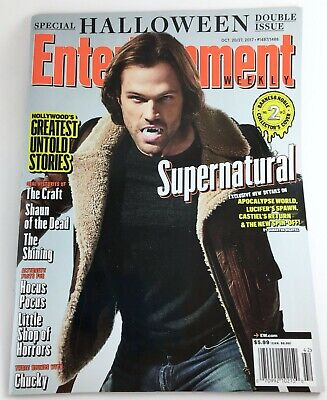 Entertainment Weekly 1487/1488 Oct 20/27, 2017 Supernatural Jared Mint No Label