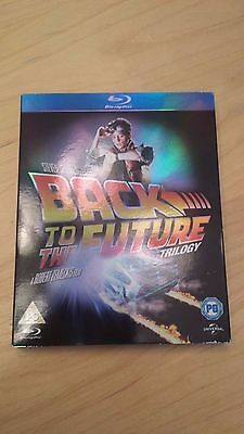Back to the Future Trilogy - 3 disc Blu-Ray Set - UK issued, Region Free