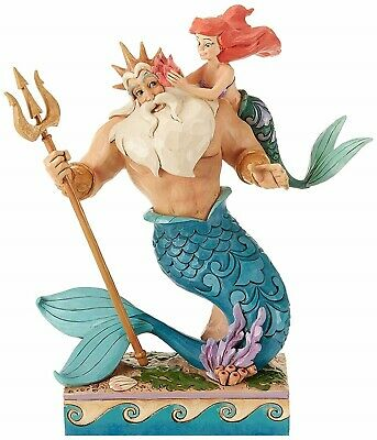 Disney Traditions Ariel and Triton from Little Mermaid Jim Shore 4059730