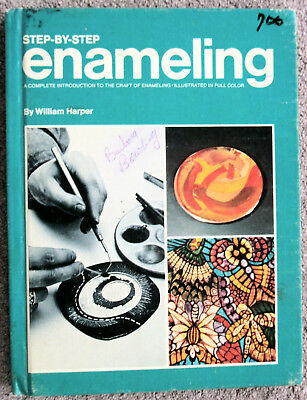 Rare Book - Step By Step Enameling By William Harper