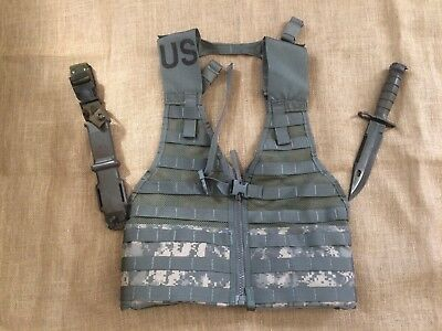 Ontario M9Bayonet Fighting Knife - Molle Tactical Vest - Combination Pack!!